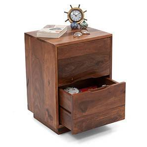 Zephyr bedside table teak finish 00 4