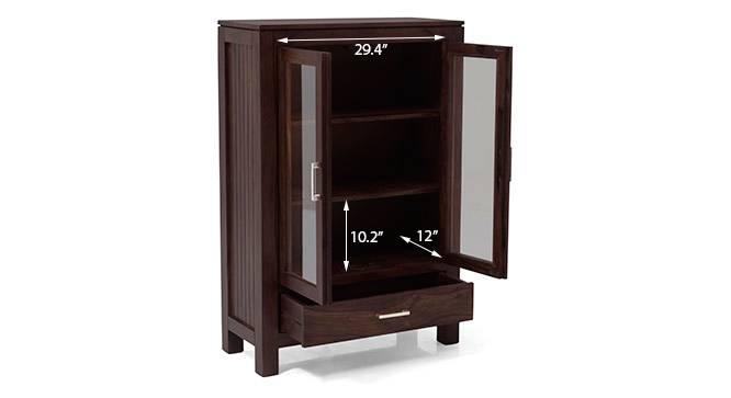 Carnegie crockery cabinet mahogany 16 17