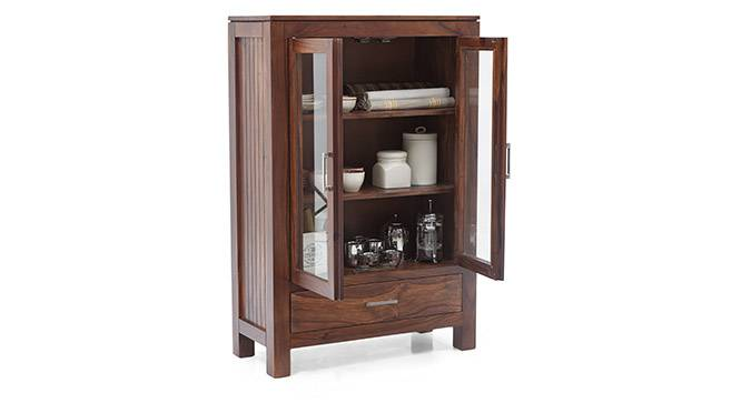 Carnegie Display Cabinet (Teak Finish) by Urban Ladder