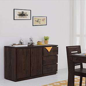 Vector Wide XL Sideboard (Mahogany Finish) by Urban Ladder - - 51899