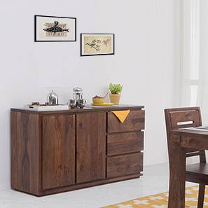 Vector Wide XL Sideboard (Teak Finish) by Urban Ladder - - 51917