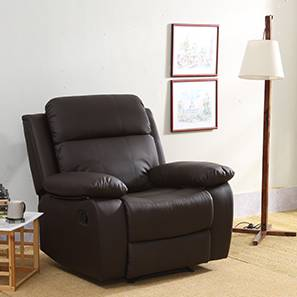 Robert recliner chocolate brown 00 lp