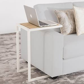 Cel Laptop Table (White) by Urban Ladder