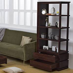 Vector Display Unit (Mahogany Finish) by Urban Ladder