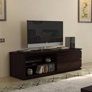 "Vector 55"" TV Unit (Mahogany Finish) by Urban Ladder"