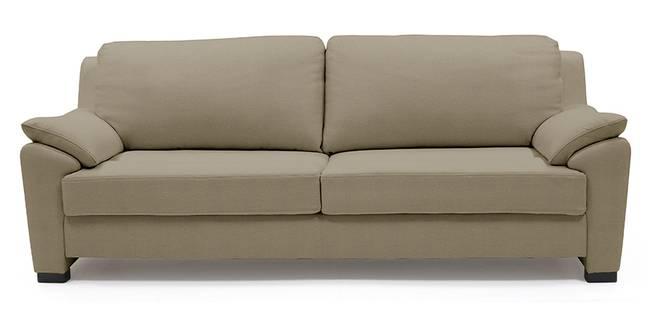 Farina Half Leather Sofa (Cappuccino Italian Leather) (Cappuccino, Regular Sofa Size, Regular Sofa Type, Leather Sofa Material)