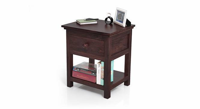 Snooze Bedside Table (Mahogany Finish) by Urban Ladder - - 592