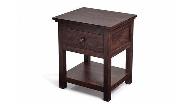 Snooze Bedside Table (Mahogany Finish) by Urban Ladder - - 593