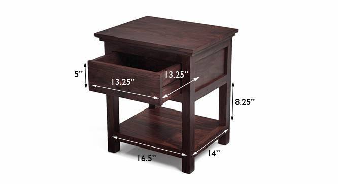 Snooze bedside table mahogany finish img 4615 m copy ed
