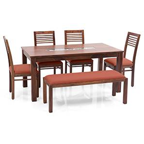 Brighton zella 4 seater upholstered bench dining table set tk bo 00 lp