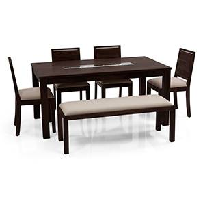 Brighton oribi 4 seater upholstered bench dining table set mh wb 00 lp