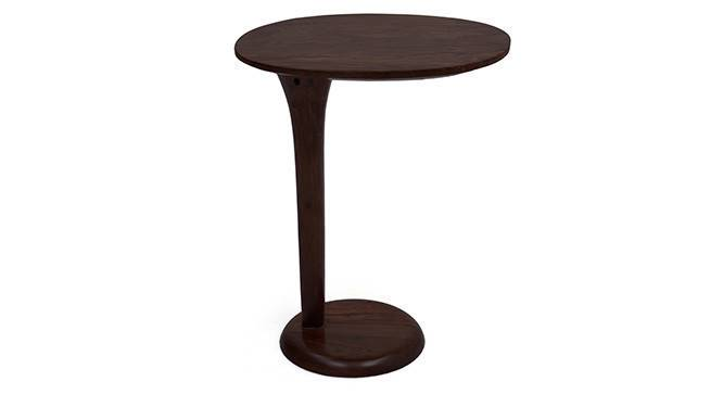 Cypress Side Table (Mahogany Finish) by Urban Ladder - Design 1 Front View - 6503