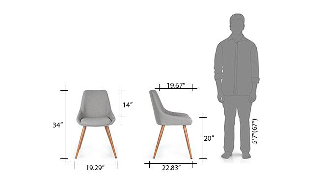 Rickman lounge chair new dimensions