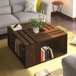 Penland Coffee Table (Walnut Finish) by Urban Ladder - - 68655