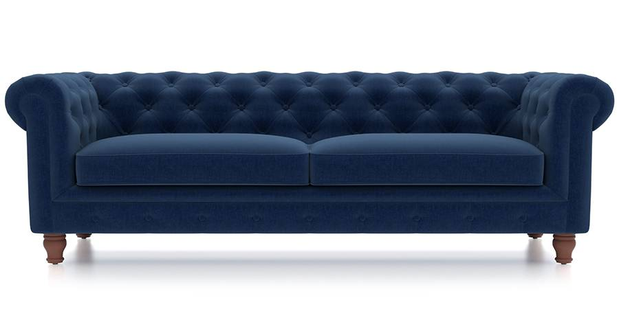 Winchester Fabric Sofa Cobalt Blue Urban Ladder