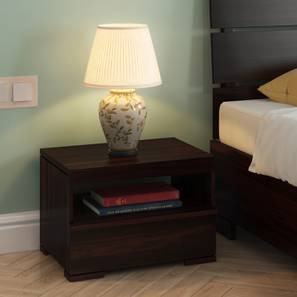 Ohio Bedside Table (Mahogany Finish) by Urban Ladder - - 7991