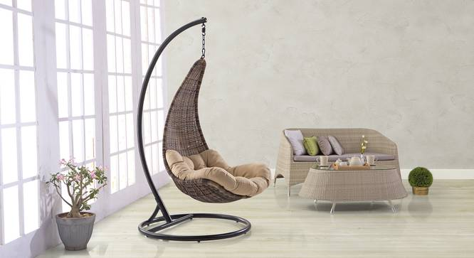 Danum Swing Chair (Brown) by Urban Ladder - Full View Design 1 - 81716