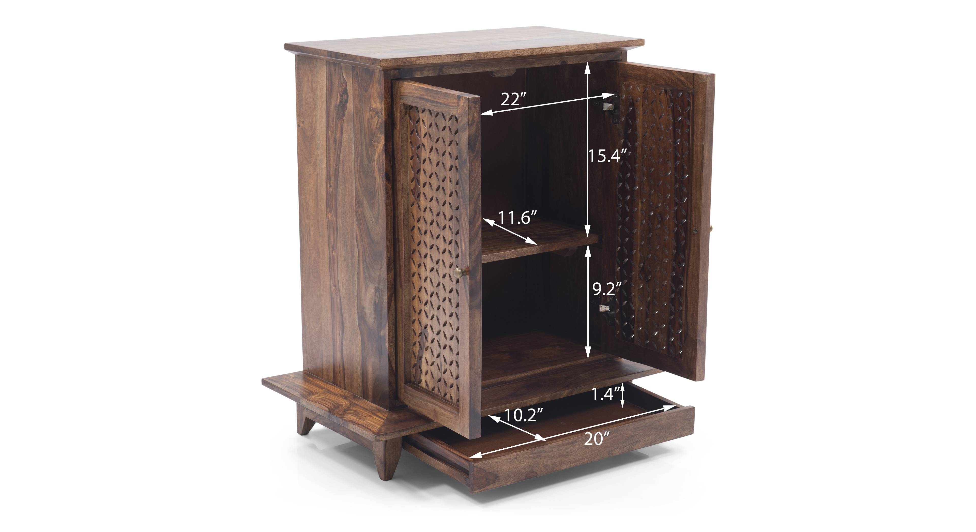 Devoto prayer cabinet finish  teak 07