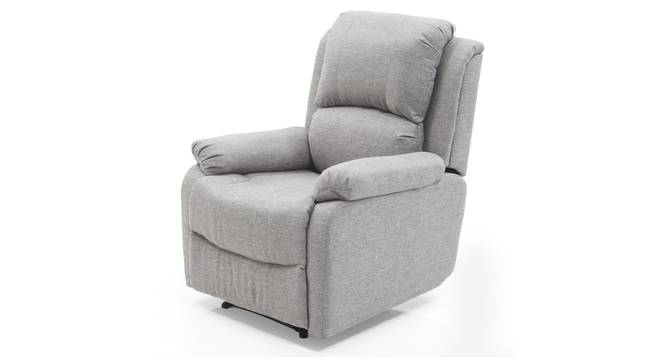 Tribbiani Recliner (Igneous Grey Fabric) by Urban Ladder