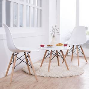 Dsw dining chair replicas   set of 2 white 00 lp