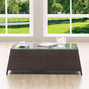 Samui Patio Table (Brown Finish) by Urban Ladder - - 83142