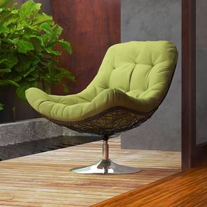 Calabah swivel lounge chair green lp