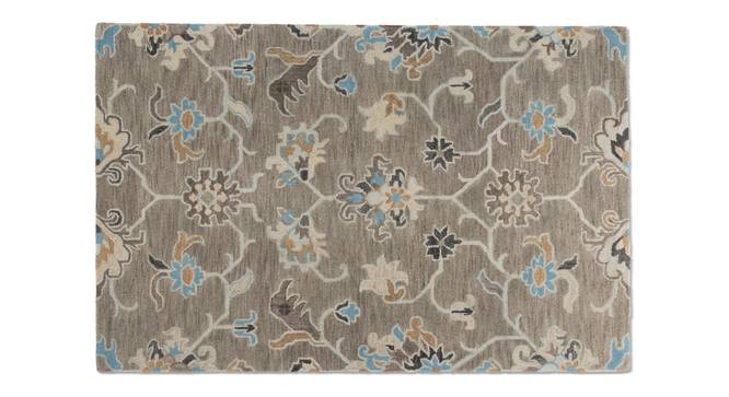 "Sardis Hand Tufted Carpet (152 x 236 cm  (60 x 93"") Carpet Size, Fossil Grey) by Urban Ladder - - 84852"