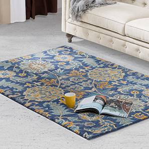Sardis hand tufted carpet prussian blue 00 lp