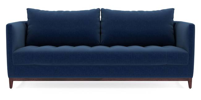 Florence Compact Sofa (Cobalt Blue) (Cobalt, Fabric Sofa Material, Compact Sofa Size, Regular Sofa Type)