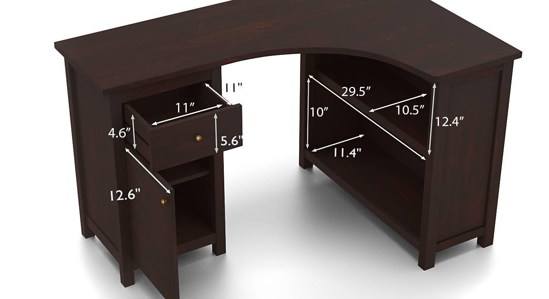 Dickens corner desk new dimension