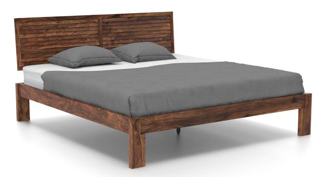 Terence Bed (Teak Finish, Queen Bed Size) by Urban Ladder