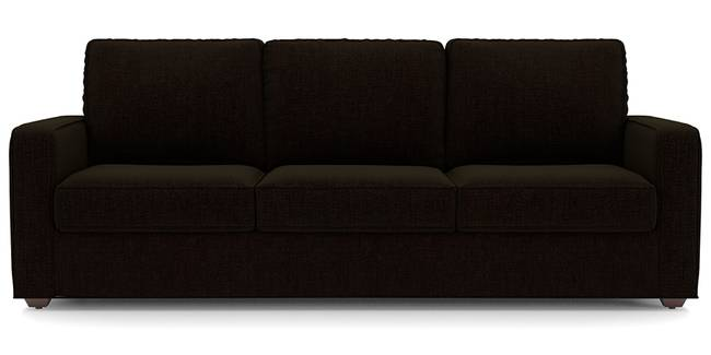 Apollo Sofa Set (Dark Earth, Fabric Sofa Material, Regular Sofa Size, Soft Cushion Type, Regular Sofa Type, Master Sofa Component, Regular Back Type, Regular Back Height)