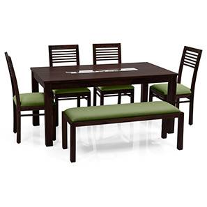 Brighton zella 6 seater dining set with bench ag mh 00 lp