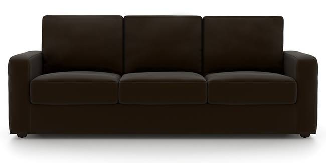 Apollo Sofa Set (Chocolate, Leatherette Sofa Material, Regular Sofa Size, Soft Cushion Type, Regular Sofa Type, Master Sofa Component, Regular Back Type, Regular Back Height)