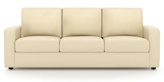 Apollo Sofa Set (Cream, Leatherette Sofa Material, Regular Sofa Size, Soft Cushion Type, Regular Sofa Type, Master Sofa Component, Regular Back Type, Regular Back Height)