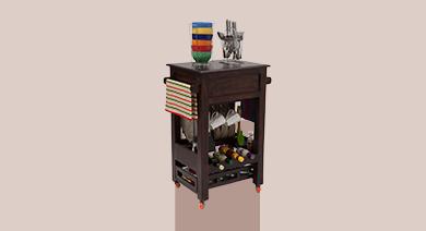 Kitchen Cabinets & Racks Design