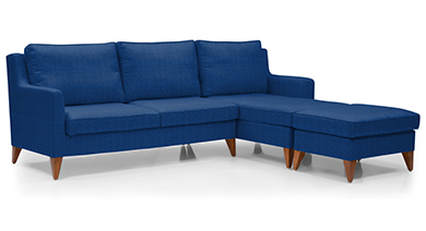 Greenwich Sectional Sofa (Fabric)
