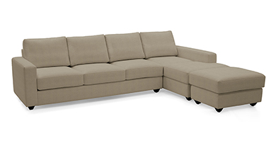 Apollo Sectional Sofa (Leatherette)