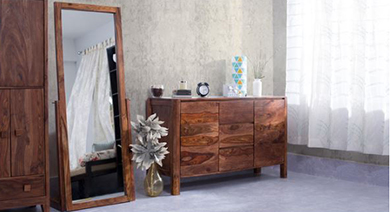 Bedroom storage  acc dressers   mirror