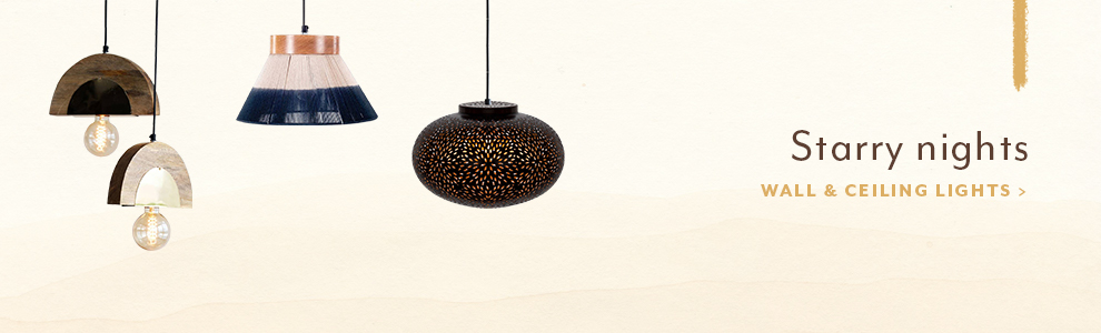 Desktop ceiling and wall lamps