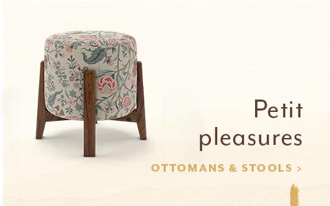 Desktop ottomans and stools