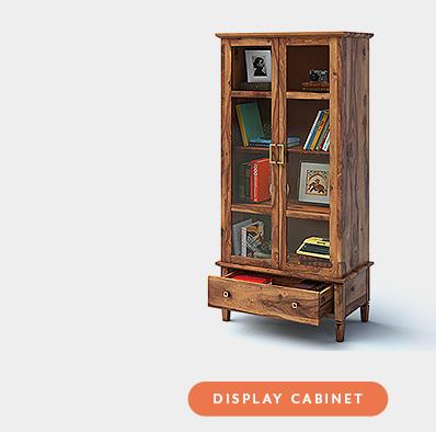Urban Ladder Malabar Furniture Display Cabinet