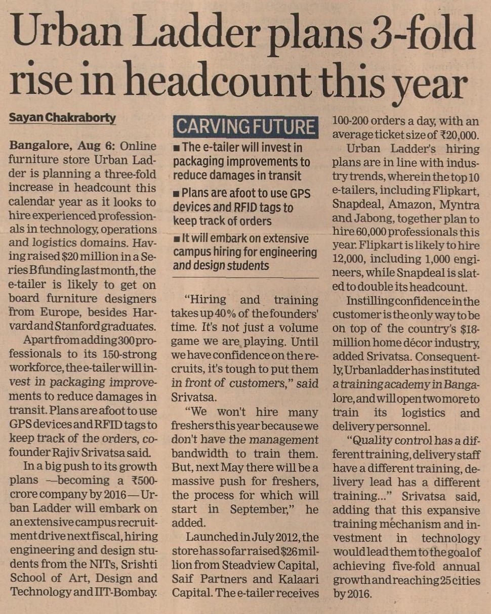 Financial express 7th august
