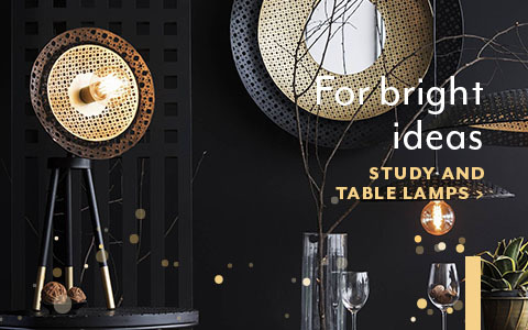 The little joy at homedesktop study and table lamps