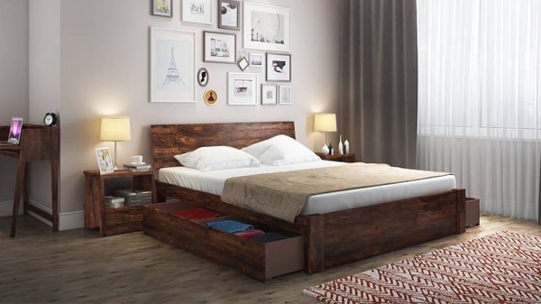 Looking for a wooden bed design?