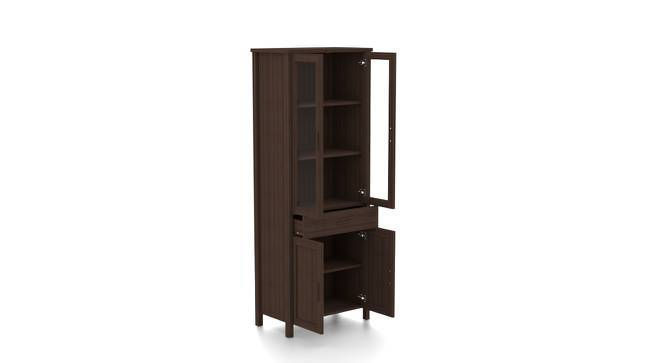 Norland Bookshelf (65-book capacity) (Dark Walnut Finish) by Urban Ladder