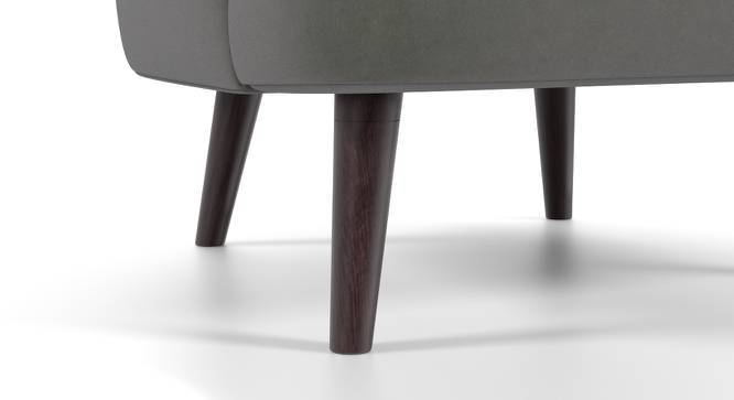 Bardot Lounge Chair (Charcoal Grey) by Urban Ladder