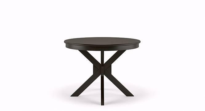 Liana - Gordon 4 Seater Round Dining Table Set (Mahogany Finish) by Urban Ladder
