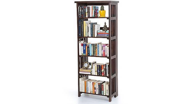 Rhodes Folding Book Shelf (Mahogany Finish, Tall Configuration) by Urban Ladder