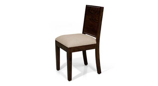 Oribi Dining Chairs - Set of 2 (Mahogany Finish, Wheat Brown) by Urban Ladder